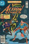 Cover for Action Comics (DC, 1938 series) #521 [Newsstand]
