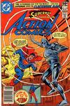 Cover for Action Comics (DC, 1938 series) #522 [Newsstand]