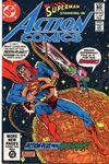 Cover for Action Comics (DC, 1938 series) #528 [Direct]