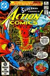 Cover for Action Comics (DC, 1938 series) #529 [Direct]