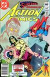 Cover Thumbnail for Action Comics (1938 series) #531 [Newsstand]