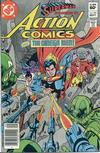 Cover for Action Comics (DC, 1938 series) #535 [Newsstand]