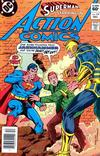 Cover Thumbnail for Action Comics (1938 series) #538 [Newsstand]
