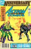 Cover Thumbnail for Action Comics (1938 series) #544 [Newsstand]