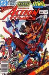 Cover Thumbnail for Action Comics (1938 series) #546 [Newsstand]