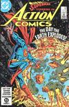 Cover for Action Comics (DC, 1938 series) #550 [Direct]