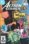 Cover for Action Comics (DC, 1938 series) #554 [Direct]