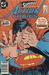 Cover Thumbnail for Action Comics (1938 series) #558 [newsstand]