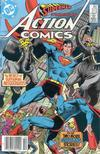 Cover Thumbnail for Action Comics (1938 series) #572 [Canadian Newsstand]