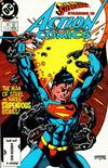 Cover for Action Comics (DC, 1938 series) #580 [Direct]