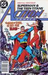 Cover Thumbnail for Action Comics (1938 series) #584 [Newsstand]
