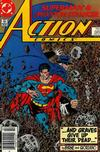 Cover Thumbnail for Action Comics (1938 series) #585 [Newsstand]