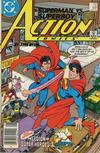 Cover Thumbnail for Action Comics (1938 series) #591 [Newsstand]