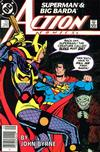 Cover Thumbnail for Action Comics (1938 series) #592 [Newsstand]