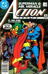 Cover Thumbnail for Action Comics (1938 series) #593 [Newsstand]