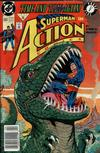 Cover Thumbnail for Action Comics (1938 series) #664 [Newsstand]