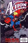 Cover for Action Comics (DC, 1938 series) #666 [Direct]