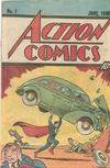 Cover for Action Comics [Nestlé Quik 10¢ Cover] (DC, 1983 series) #1