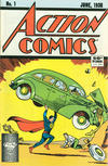 Cover for Action Comics [50¢ Cover] (DC, 1988 series) #1