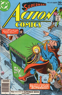 Cover Thumbnail for Action Comics (DC, 1938 series) #475