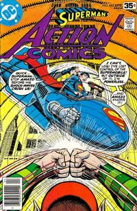 Cover Thumbnail for Action Comics (DC, 1938 series) #482