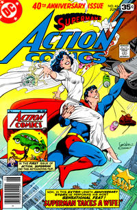 Cover Thumbnail for Action Comics (DC, 1938 series) #484