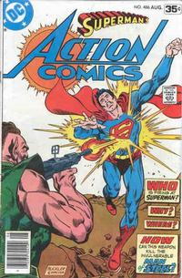 Cover Thumbnail for Action Comics (DC, 1938 series) #486 [Newsstand]