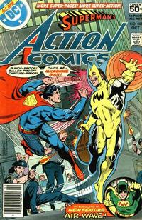 Cover Thumbnail for Action Comics (DC, 1938 series) #488