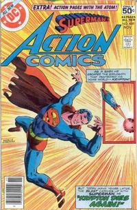 Cover Thumbnail for Action Comics (DC, 1938 series) #489