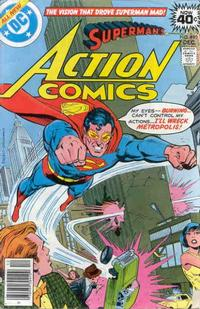 Cover Thumbnail for Action Comics (DC, 1938 series) #490
