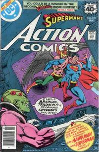 Cover Thumbnail for Action Comics (DC, 1938 series) #491