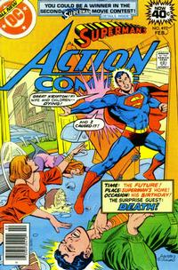 Cover Thumbnail for Action Comics (DC, 1938 series) #492