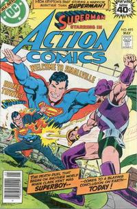 Cover Thumbnail for Action Comics (DC, 1938 series) #495