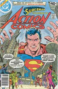 Cover Thumbnail for Action Comics (DC, 1938 series) #496