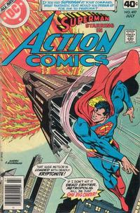 Cover Thumbnail for Action Comics (DC, 1938 series) #497
