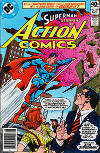 Cover Thumbnail for Action Comics (DC, 1938 series) #498
