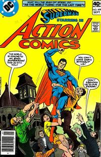 Cover Thumbnail for Action Comics (DC, 1938 series) #499