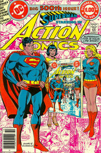 Cover Thumbnail for Action Comics (DC, 1938 series) #500