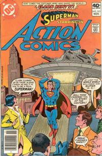 Cover Thumbnail for Action Comics (DC, 1938 series) #501