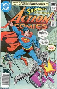 Cover Thumbnail for Action Comics (DC, 1938 series) #504