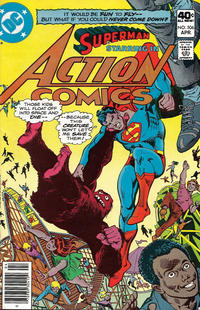 Cover Thumbnail for Action Comics (DC, 1938 series) #506