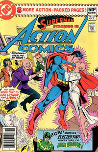Cover Thumbnail for Action Comics (DC, 1938 series) #512 [Newsstand]