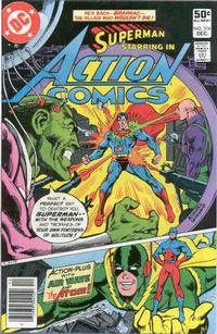 Cover Thumbnail for Action Comics (DC, 1938 series) #514 [Newsstand]