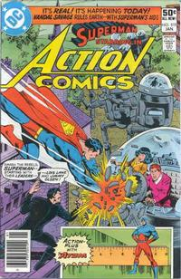 Cover Thumbnail for Action Comics (DC, 1938 series) #515