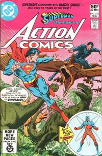 Cover for Action Comics (DC, 1938 series) #516 [Direct]