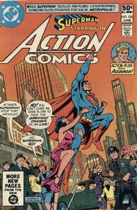 Cover Thumbnail for Action Comics (DC, 1938 series) #520 [Direct]