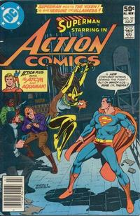 Cover Thumbnail for Action Comics (DC, 1938 series) #521 [Newsstand]