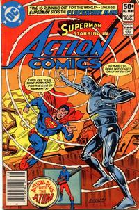 Cover Thumbnail for Action Comics (DC, 1938 series) #522 [Newsstand]