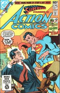 Cover Thumbnail for Action Comics (DC, 1938 series) #524 [Direct]