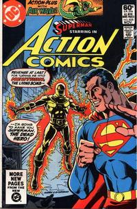 Cover Thumbnail for Action Comics (DC, 1938 series) #525 [Direct Sales]